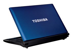 Toshiba NB520 close-up