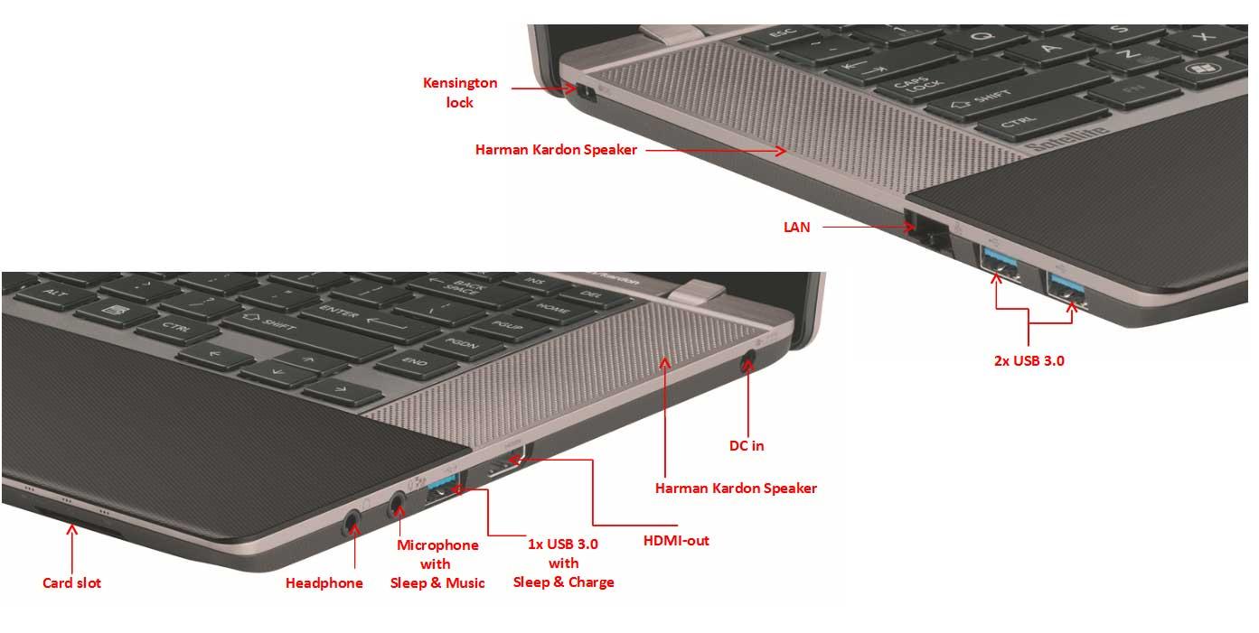 Toshiba Satellite Widescreen Ultrabook U840w Toshiba Satellite U840w-107