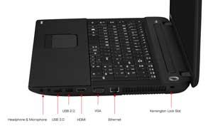 Toshiba Satellite C70-107 17.3-inch Notebook (Intel Pentium 2020M 2