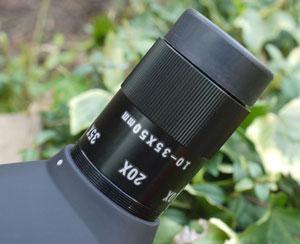 10x-35x zoom eyepiece