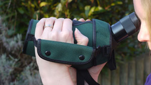 Comfortable holding strap