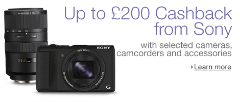 Cashback with Sony