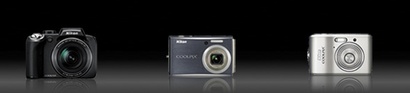 Nikon coolpix camera range