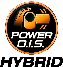 New HYBRID O.I.S. (Optical Image Stabilizer)