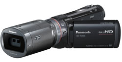 Panasonic's brilliant 3D conversion lens in action