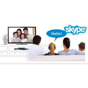 Connect with Skype