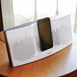 Bose ® SoundDock XT Speaker - White/Dark Grey: Amazon.co ...