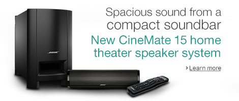 New Bose Cinemate 15 Soundbar Speaker System