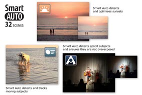 Effortless shooting for the whole family with Smart Auto