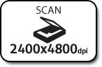 Scan 2400x4800dpi