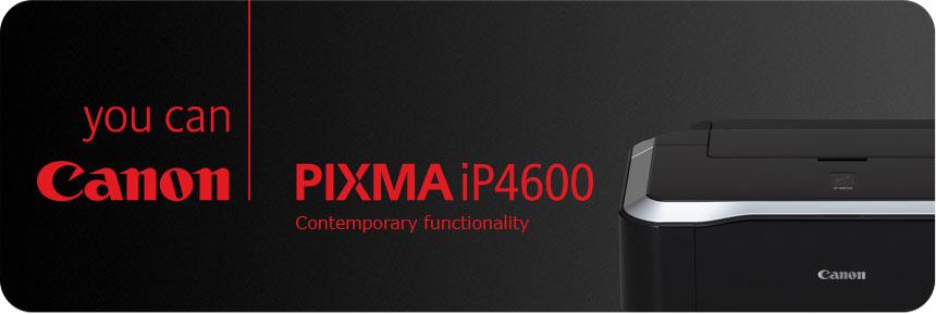 Canon PIXMA iP4600 Banner