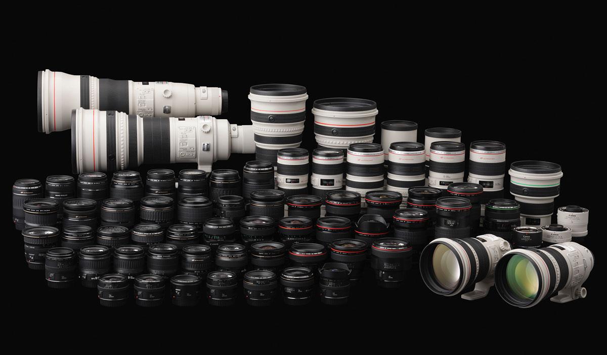 Canon lenses  Canon