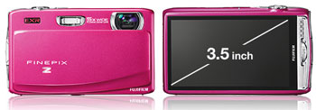Available in four high gloss colours – Hot Pink, Brilliant Black, Gloss Red and Royal Blue