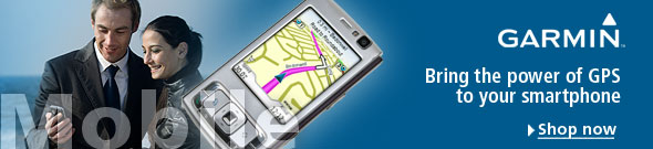 Get more from your GPS-enabled mobile phone with Garmin