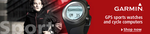 Let Garmin help you to get the most out of your exercise - check out our great range of fitness and sports products