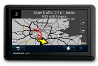 Not every traffic service is equal. With Garmin, you'll always know what lies ahead. And it's subscription-free, for life.
