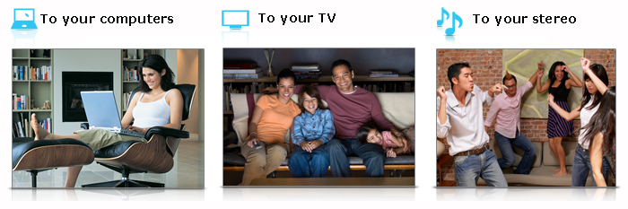 Streaming Your Media Around Your Home