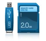 Linksys By Cisco Media Hub 400 Series Has An SD Card Reader