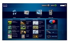 Linksys by Cisco Media Hub Interface