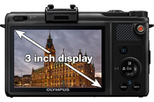 B0065S9FTS - Olympus XZ-1 with 3 inch OLED display