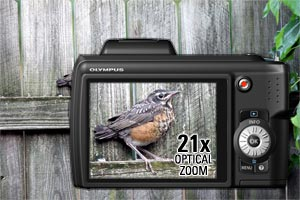 21x ultra-wide optical zoom for photo flexibility