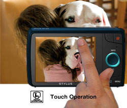 touch panel LCD screen