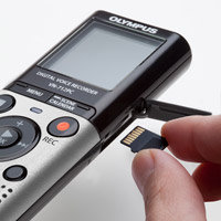 MicroSD card expansion slot