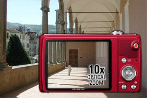 10x super wide optical zoom