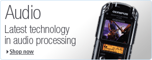 Olympus provide the very latest technology in audio processing