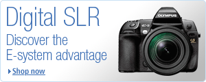 Discover the E-system advantage with Olympus Digital SLRs