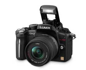 The GH2 can record high-resolution full-HD movies in AVCHD format