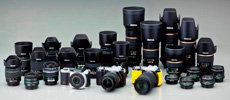 Interchangeable lens camera system