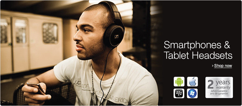 Sennheiser Smartphone and Mobile Headsets at Amazon.co.uk