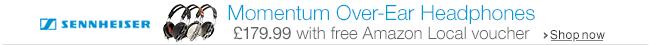 Sennheiser Momentum Headphones for £179.99 with Free Amazon Local Voucher