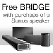 Free Sonos BRIDGE with purchase of a Sonos Speaker