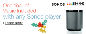Free 12-Month Music Subscription with Any Sonos Player
