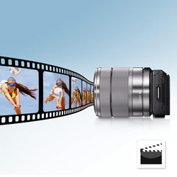 Direct your very own films with advanced high quality Full HD video with 16.1 megapixels.