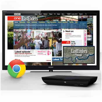 Browse the web on your TV using Google Chrome