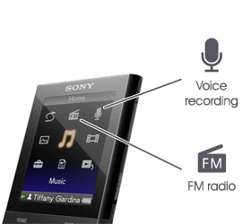 Voice and FM recording for capturing audio and broadcasts