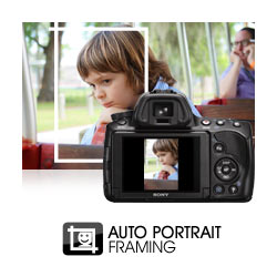 "Auto Portrait Framing: uses face detection and the compositional ""rule of thirds"