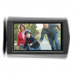 New Balanced Optical SteadyShot for blur free footage on the move.