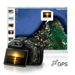 Track where you shoot with GPS