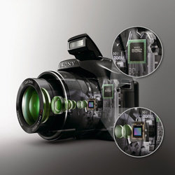 Cutting edge technology including a 16 megapixel Exmor R™ CMOS sensor.