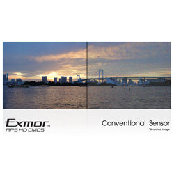 Capture everything, even in low light with the Exmor R&trade; CMOS sensor.