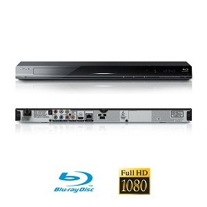 Sony Bdps380 Blu Ray Dvd Player Multi Region Dvd Side Only With Free Hdmi Cable Sold By Best Av Centre