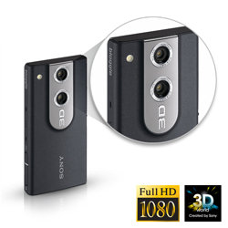 Shoot in 2D or 3D, and see your memories come to life in high definition.