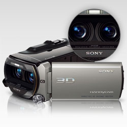 The world's first Full HD 3D camcorder.