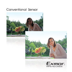 Every detail perfectly captured with a 16 megapixel  Exmor R™ CMOS sensor.