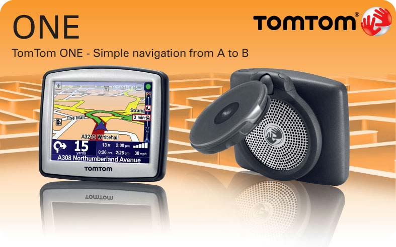 TomTom One - Simple navigation from A to B