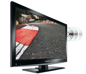DL502 series is a LED TV with built-in DVD player